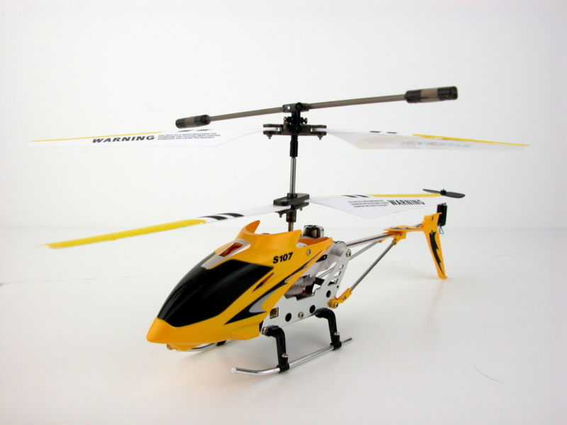 Reverse Engineering a Syma S107G RC Helicopter